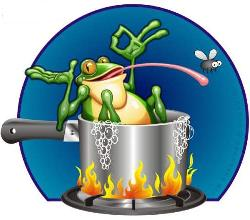 the boiling frog theory essay